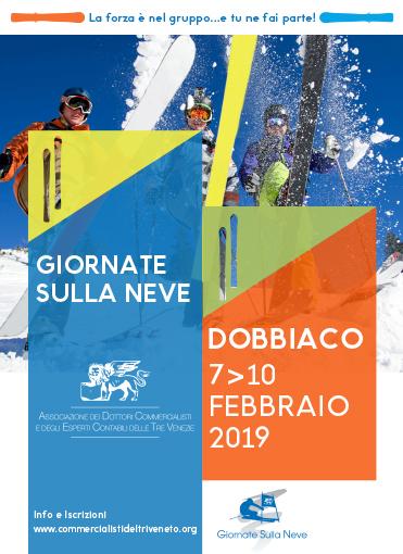 GIORNATE SULLA NEVE - DOBBIACO 7 / 10 FEBBRAIO 2019
