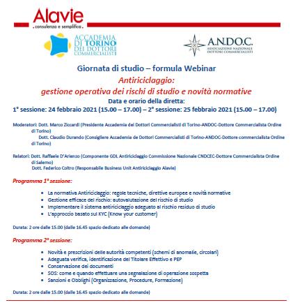 Antiriciclaggio: gestione operativa dei rischi di studio e novità normative